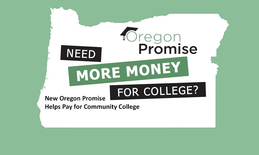 Free college education has become a campaign slogan in the 2016 presidential election, but Oregon has gotten a running start with the first class of high school seniors facing a deadline next week to apply for the Oregon Promise.