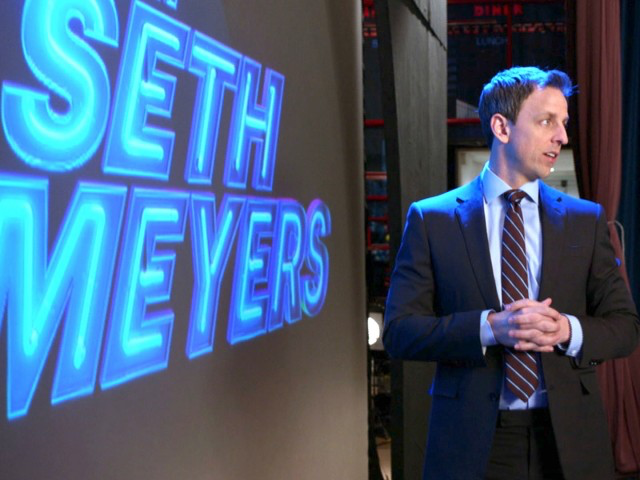 "Tonight's ""Late Night With Seth Meyers"" show will feature an extra comedy sketch paid for by American Express in a slot where traditional TV ads would have appeared as part of an experiment involving branded entertainment."