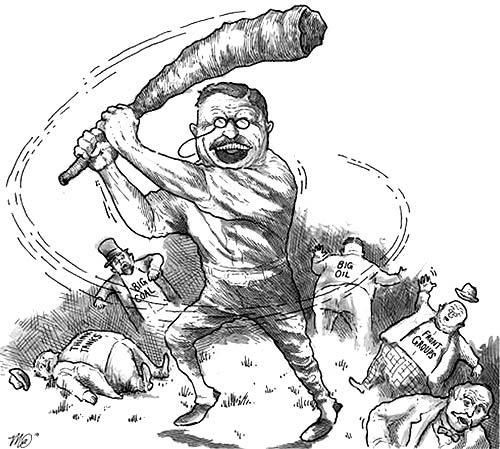 Teddy Roosevelt earned a reputation more than a century ago as a trust-buster and now there are stirrings in Congress for more aggressive antitrust enforcement to give the economy an injection of competition.