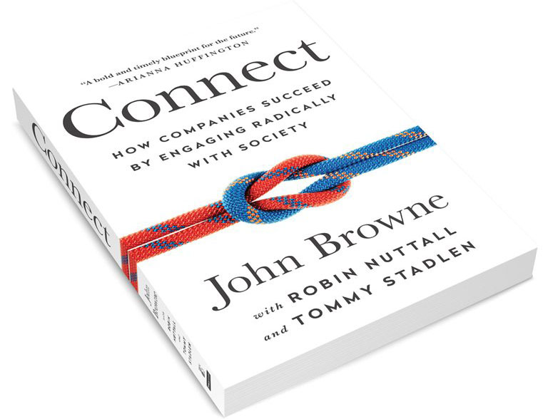 "A new book argues connected businesses are the ""new frontier for competitive advantage and profitability for  those who are enlightened enough to go beyond philanthropy or corporate social responsibility."""