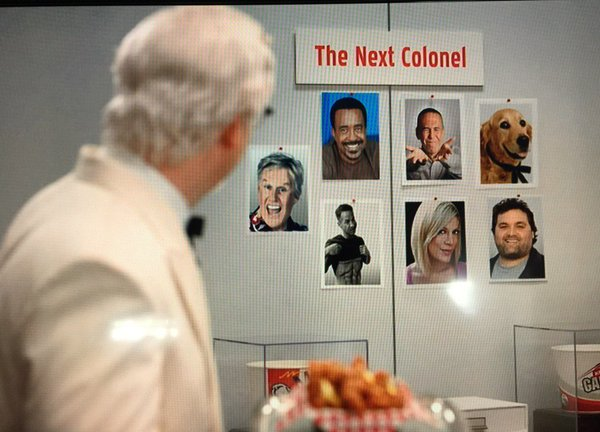 Who will be the next Colonel Sanders in KFC's clever marketing campaign?