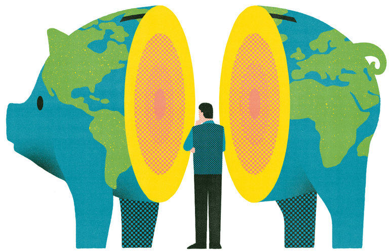 Globalization has come under sharp scrutiny in the 2016 presidential election, exposing deepening political fault lines. Harvard professor and author Dani Rodrik offers ideas for how to save international trade by giving individual nations a license to restrict trade to protect domestic economic and political institutions. (Illustration by Andrew Holder/New York Times)