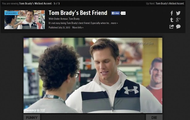 Native video, such as this funny Under Armour bit featuring Tom Brady and his fake best friend, is generating a huge boost in social media engagement. You should try it to boost your online engagement – with or without Tom Brady.