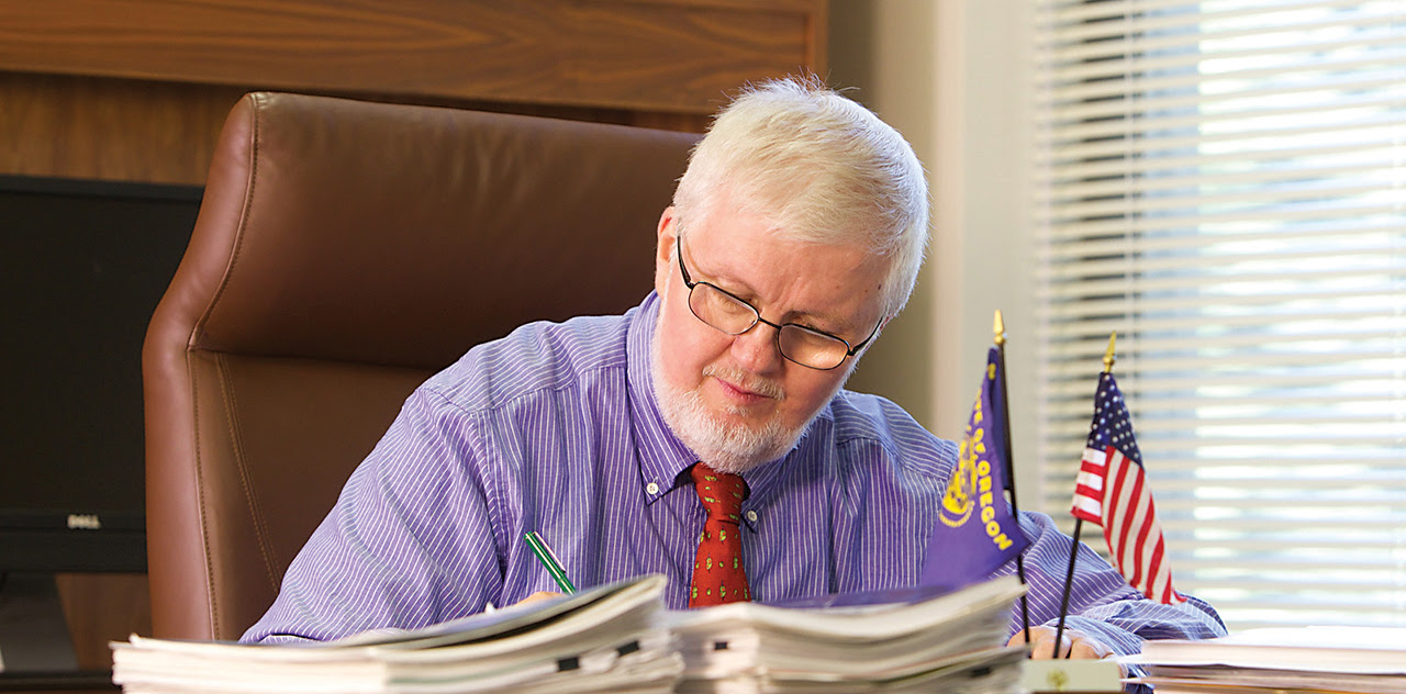 Senator Richard Devlin proposed a plan that would cut $500 million in state spending, increase business taxes by $500 million and hike the hospital tax to pay for rising Medicaid costs.