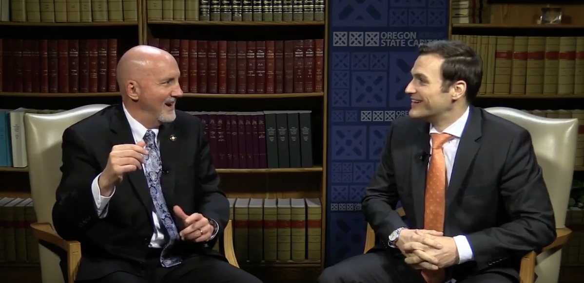 Reps. Bill Post, R-Salem, and Dan Rayfield, D-Corvallis, may be on the opposite ends of the political spectrum, but they have posted a video that argues partisanship has its place, but bipartisanship is the rule.