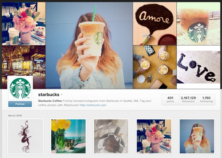 Starbucks has been a star on Instagram, using the social media platform to keep its face forward, reinforce its brand personality and announce seasonal drink offerings.