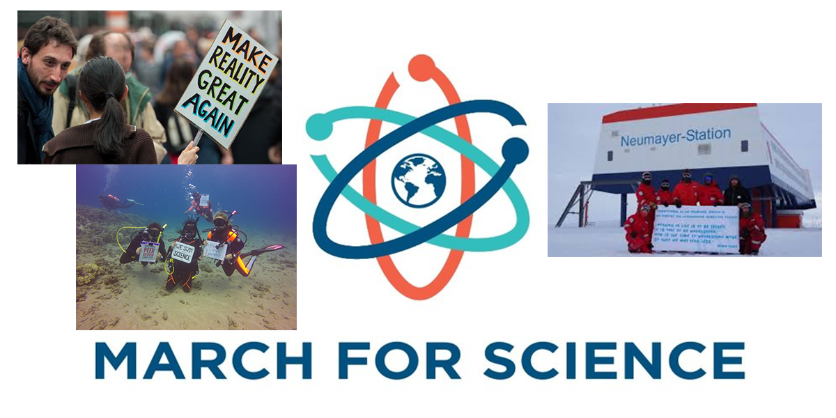 The March for Science was a global phenomenon from city streets to frozen Antarctica to the deep waters of the Pacific Ocean.