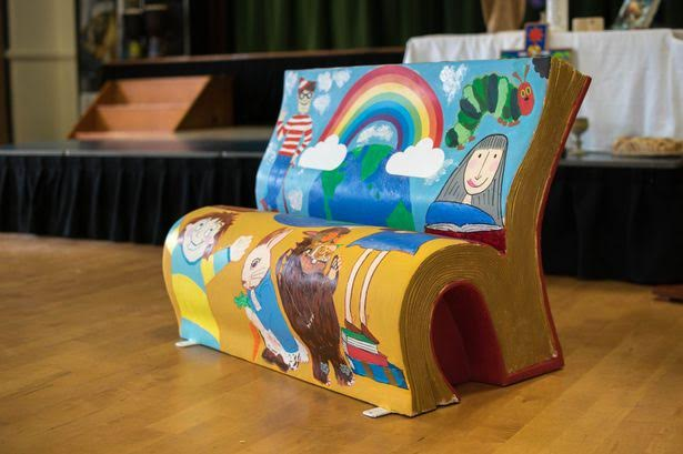 Brightly decorated book-shaped benches invite young children in Manchester, UK to read and Girls Build holds summer camps in Oregon where young girls can learn how to hammer, paint and solder. Both are examples of using real experiences to achieve community objectives.