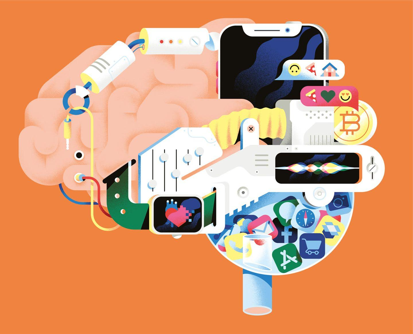 For youngsters born since 2010, social researcher Mark McCrindle says they are growing up surrounded by technology they will regard as part of the hard wiring of normal life. The rest of us will have to adjust.  Illustration Credit: Michele Marconi