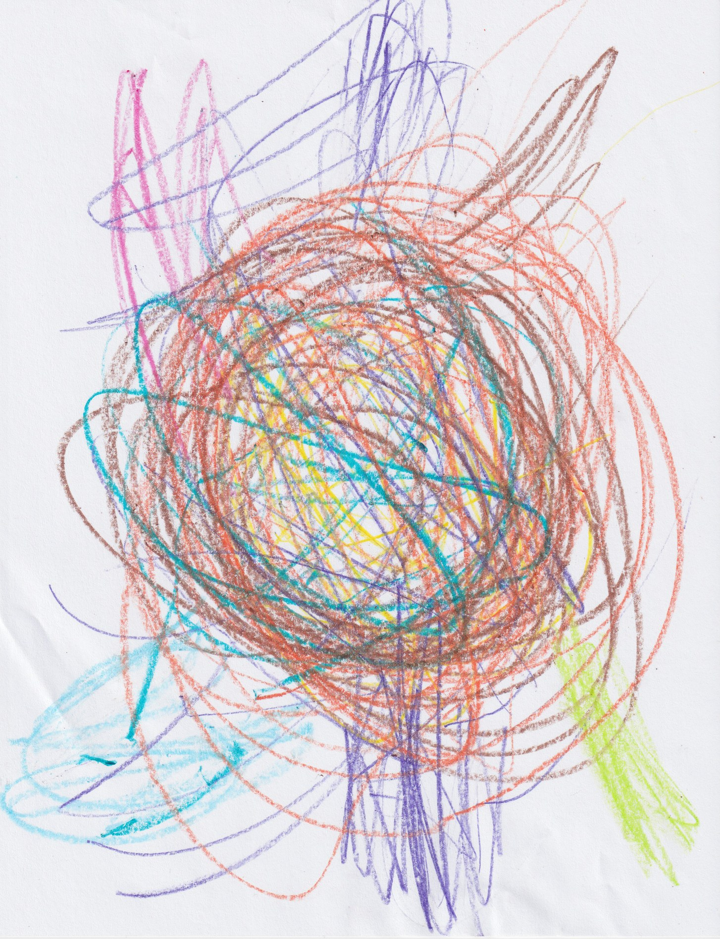 New Yorker Magazine's Andy Borowitz spoofed that a child's scribbled drawing accidentally was included in the Senate GOP tax-cut legislation. With time to read the actual 479-page bill that the Senate passed, the buried provisions might be more disturbing than a scribbled drawing.]