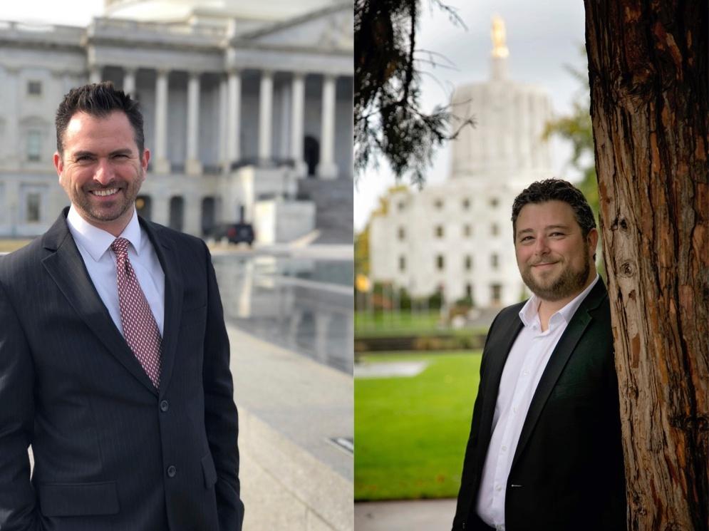 New CFM owner-partners Joel Rubin (left) and Dale Penn II (right)