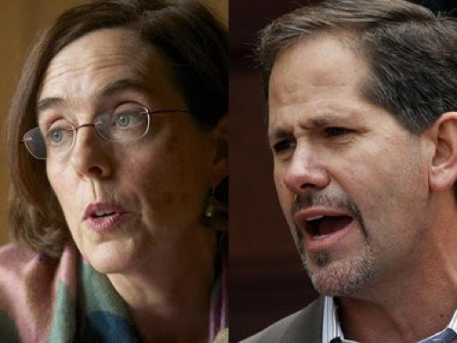Oregon's 2018 gubernatorial election has been relatively quiet so far, with Governor Kate Brown biding her time until the fall general election and front-running GOP challenger Knute Buehler trying to find a way to win the primary without getting beaten up on the campaign trail.