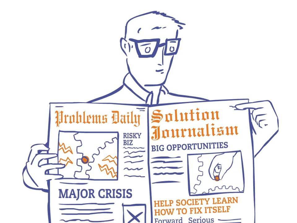 If you are discouraged by the continuous torrent of bad news, check out stories written from the perspective of solutions journalism. They can be informative and inspirational, restoring some semblance of hope that serious social problems are being addressed and conquered.