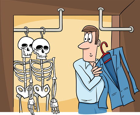 Old skeletons in the closet is an especially hard crisis to combat, largely because politicians, celebrities, corporate executives and nonprofit leaders are loathe to poke around for past indiscretions or embarrassing views, so they are poorly prepared to respond when the skeleton tumbles out of the closet onto social media.