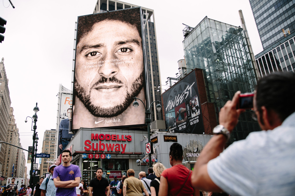 Nike's ad featuring Colin Kaepernick is an example of a consumer-facing brand stepping into a hotly contested issue that resulted in strengthened brand loyalty for some and burning sneakers for others. Corporate executives need to understand what they are getting into and the reason why so they can live with the rewards and risks.