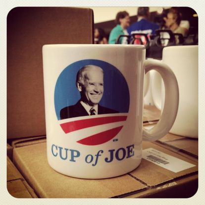 Every 2020 presidential candidate, and even a few who aren't running, have commemorative coffee mugs to make their supporters swoon over a hot mug of java. No one better befits the coffee mug motif than Cup of Joe Biden.