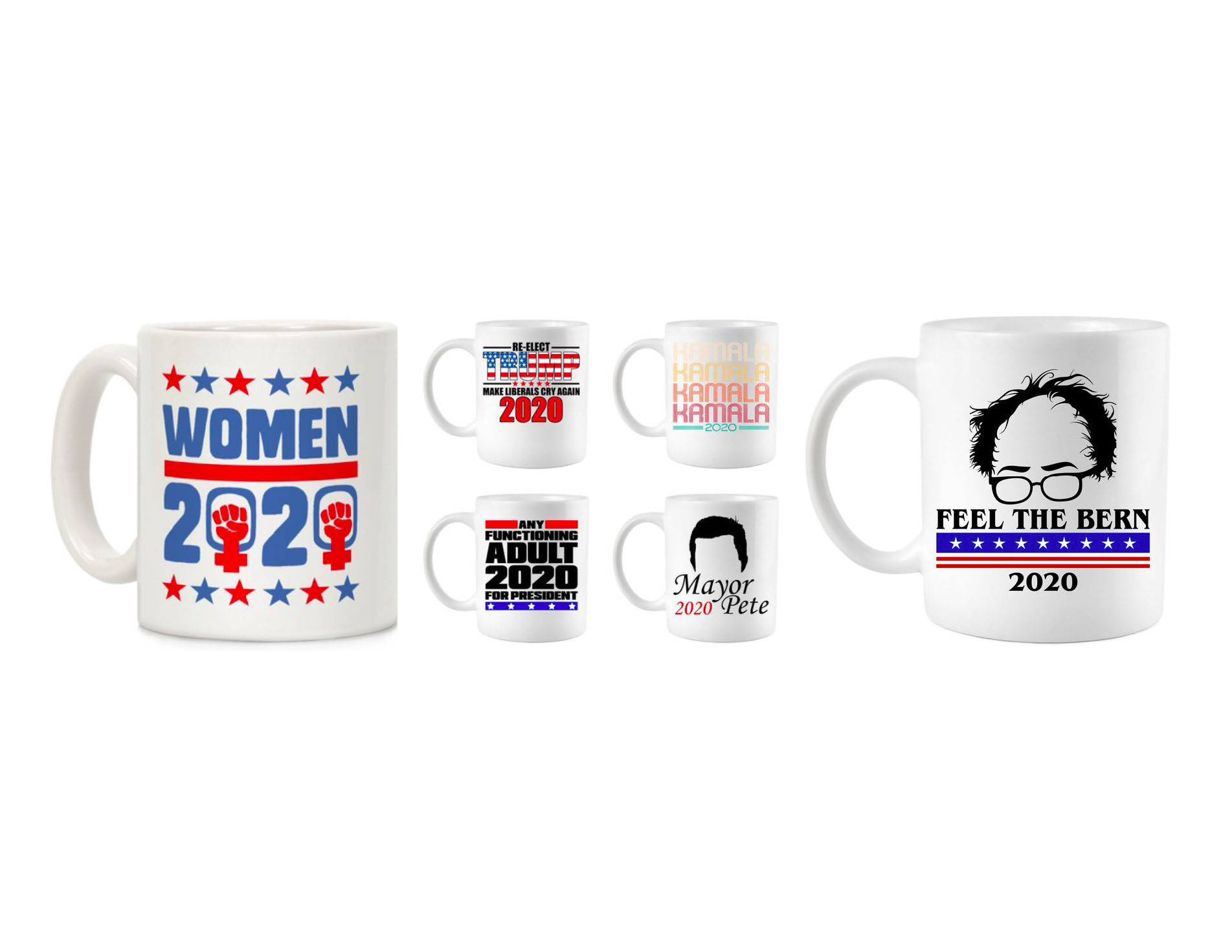 Presidential candidate coffee mugs.jpg