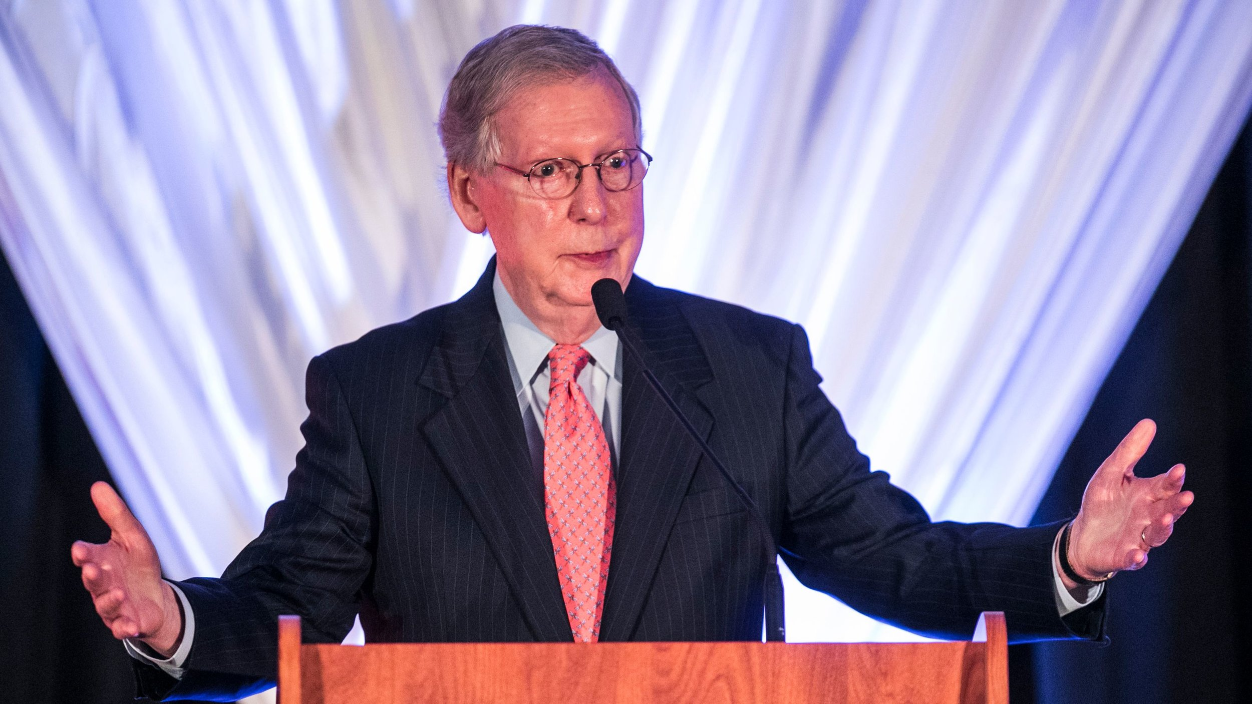 Senate GOP Majority Leader Mitch McConnell may act like he is politically invulnerable. He may be right.