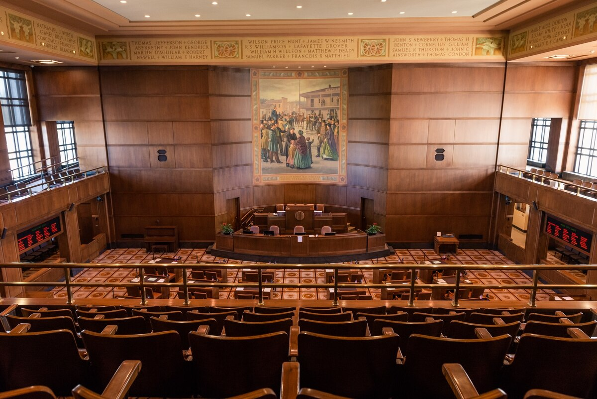 The 2019 Oregon legislative session was jolted by two Senate Republic walkouts that wound up deep-sixing three separate bills, including cap-and-trade legislation. Could another walkout occur in the 35-day 2020 legislative session? Maybe. (Photo Credit: Justin Katigbak/Willamette Week)