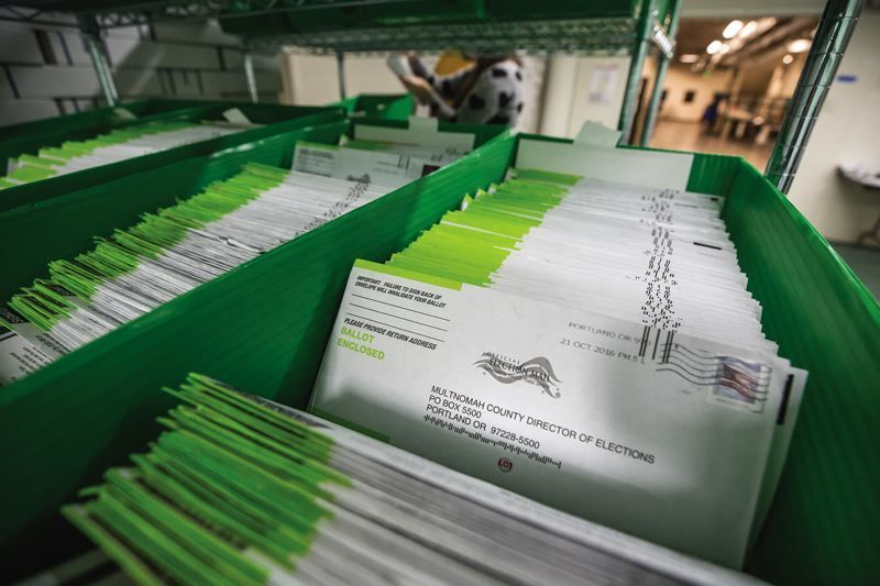 Under the shadow of high-profile legislation, Oregon continued its bipartisan tradition of expanding access to voting, including ballots with pre-paid postage.