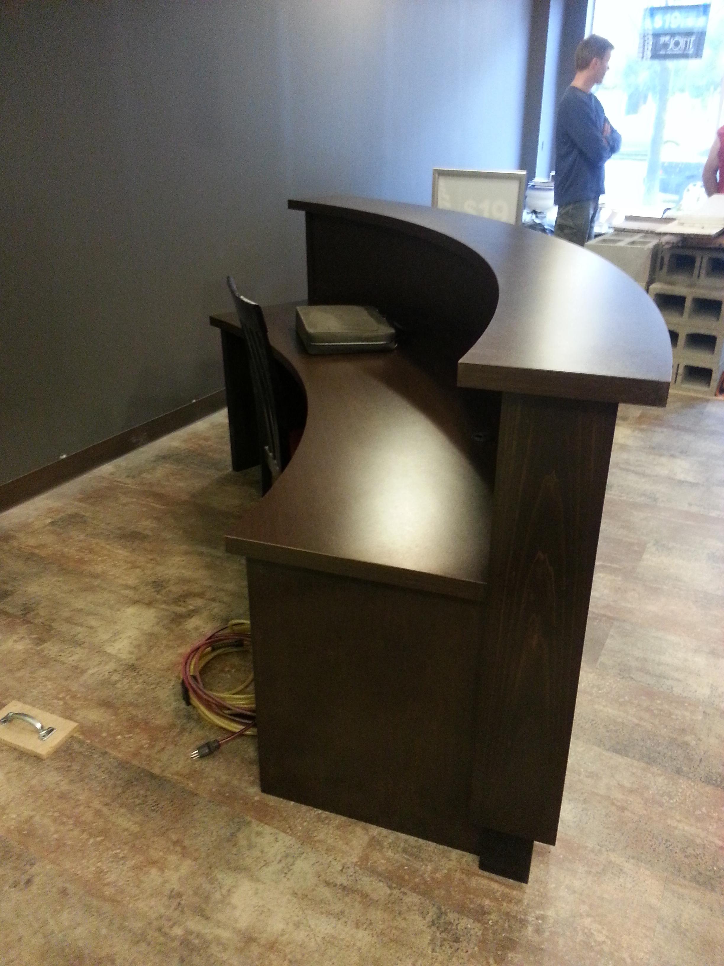 Custom Radial Desk