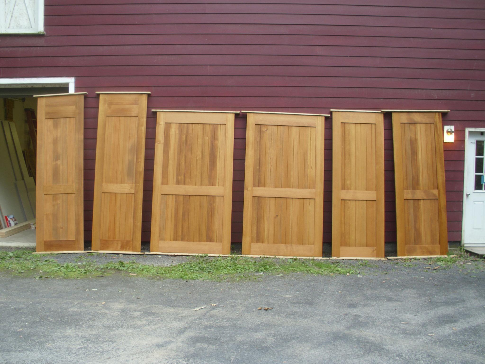 Douglas Fir Barn Doors