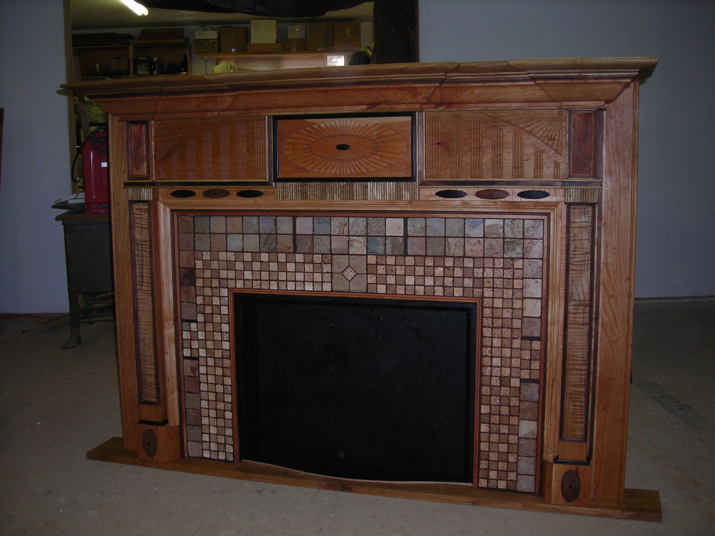Arts and Crafts Mantle Concept