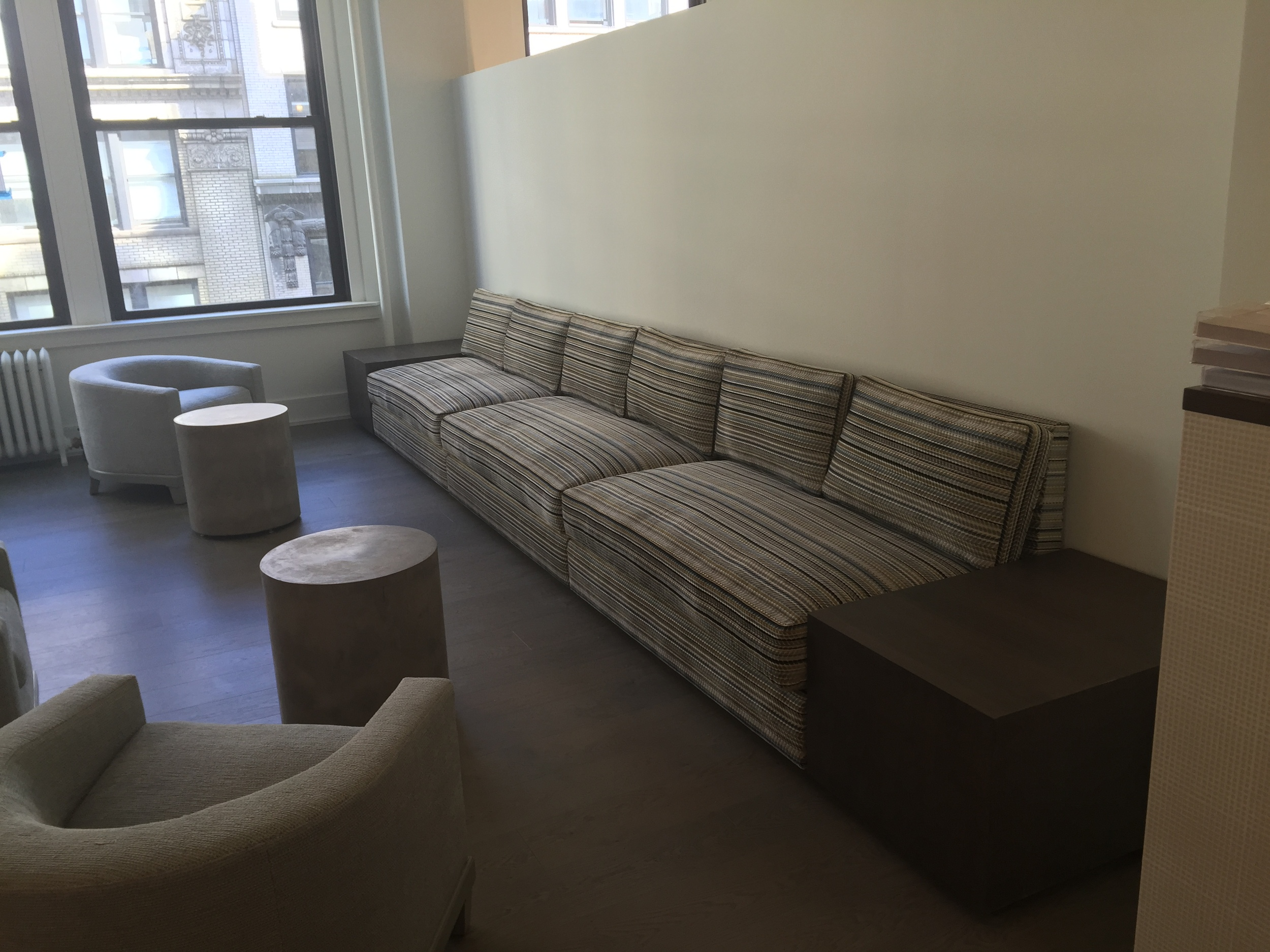 Upholstery by TLC Design, Pine Plains NY  Design by Huniford Design Studios, New York NY