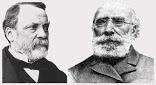 Louis Pasteur and Antoine Béchamps