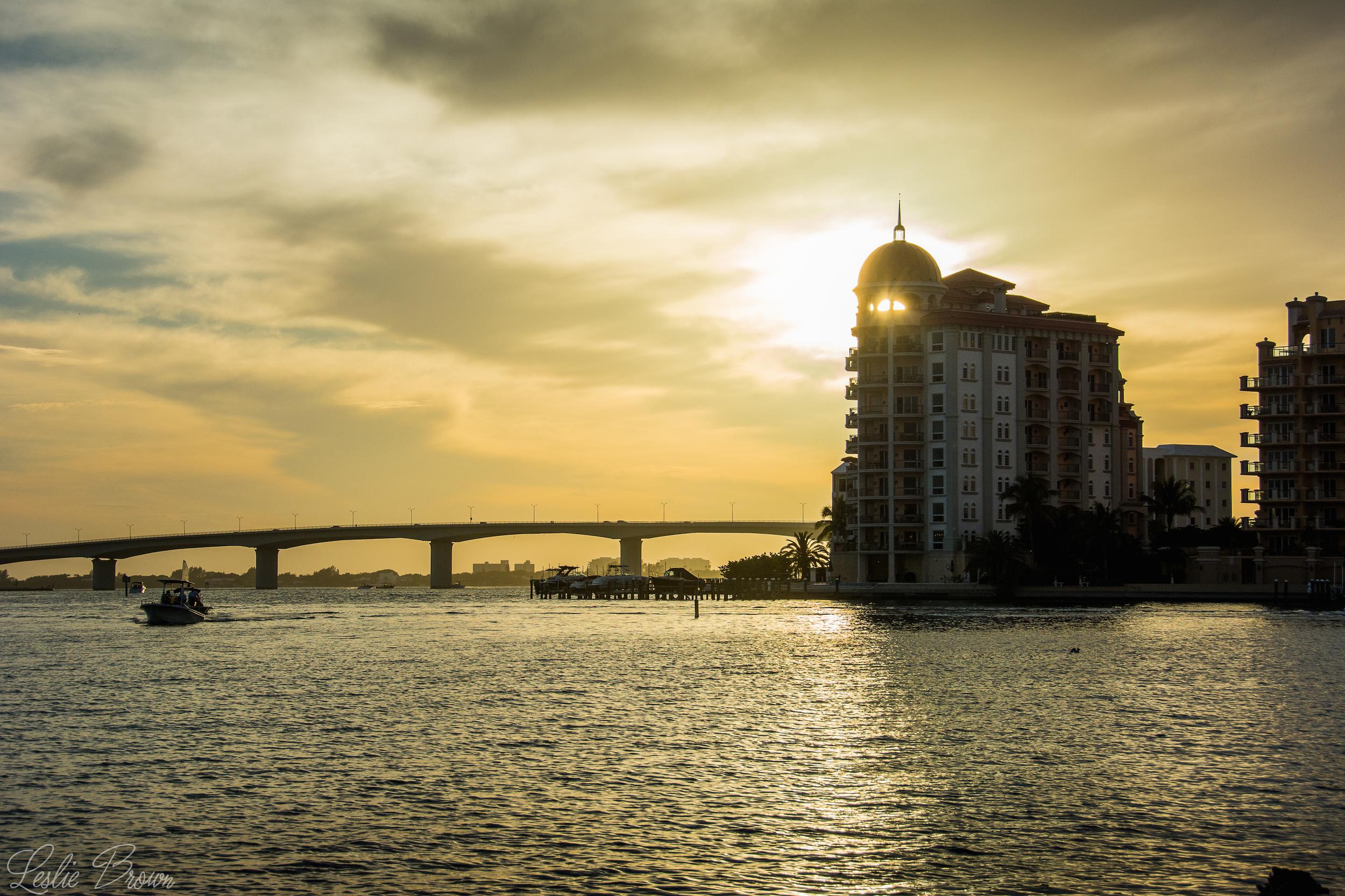 Gulf Gate Sunset