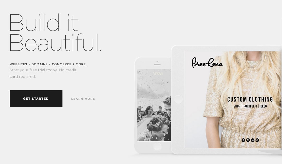 Build it Beautiful - Squarespace