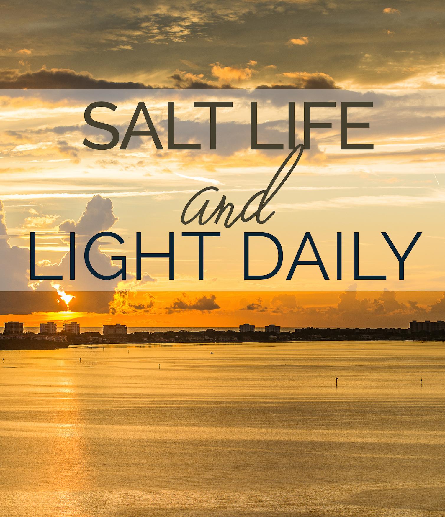 Salt Life and Light Daily - Leslie Brown