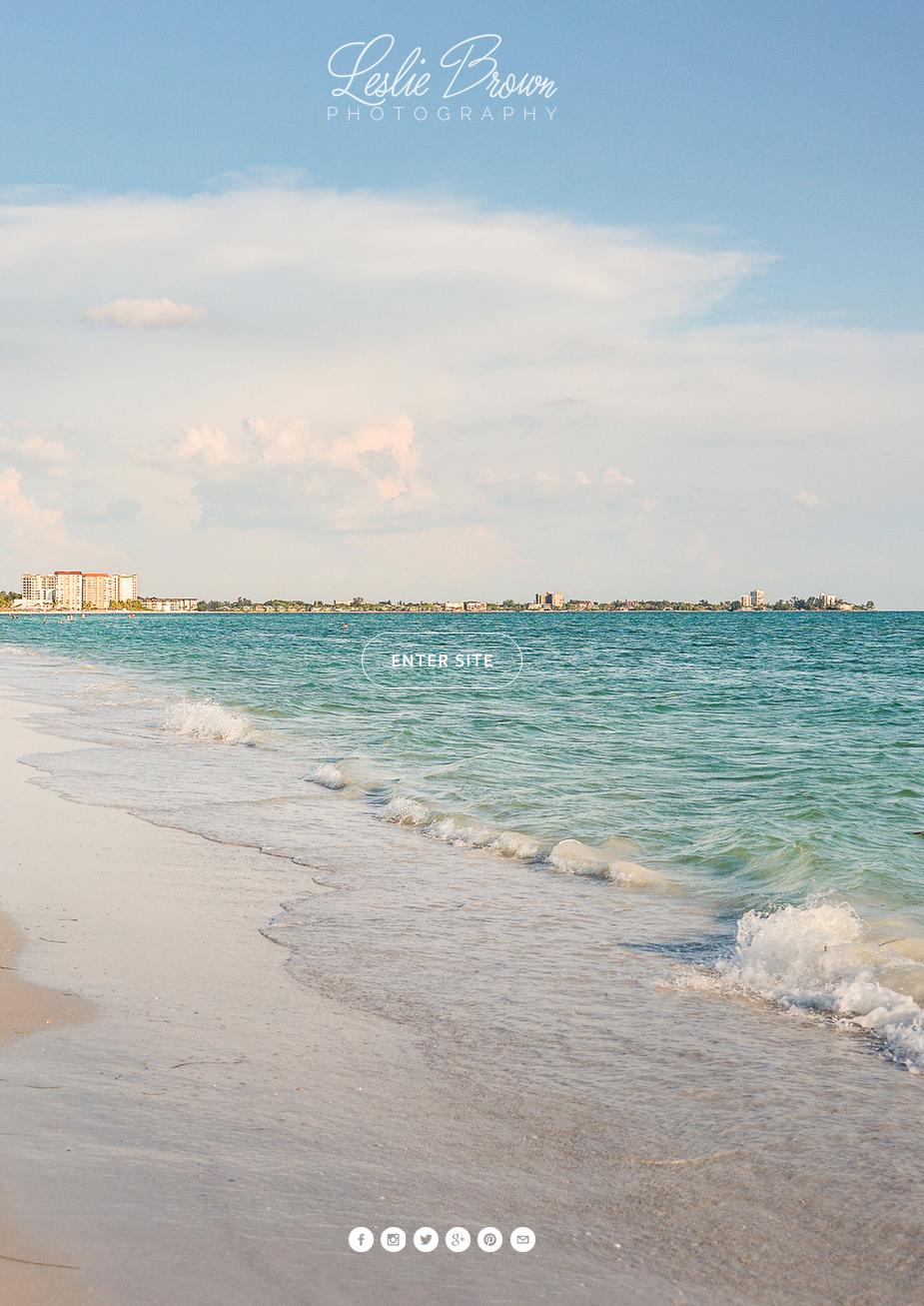 Pastel Beach - Leslie Brown