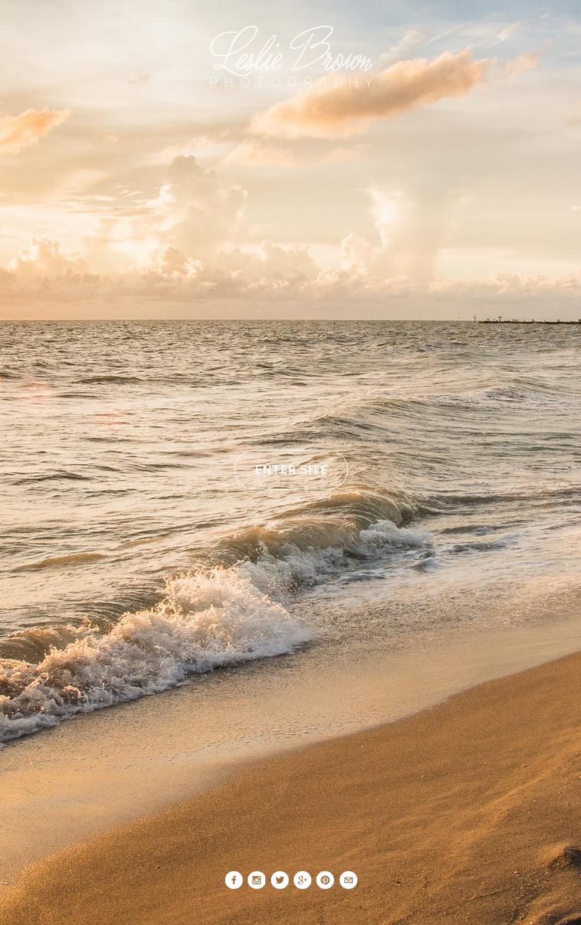 Beach Artistry - Leslie Brown