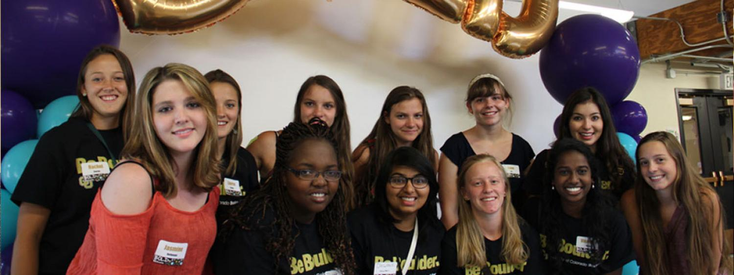 Individuals pose for a group photo at a BOLD Center event. (Photos courtesy of the BOLD Center.)