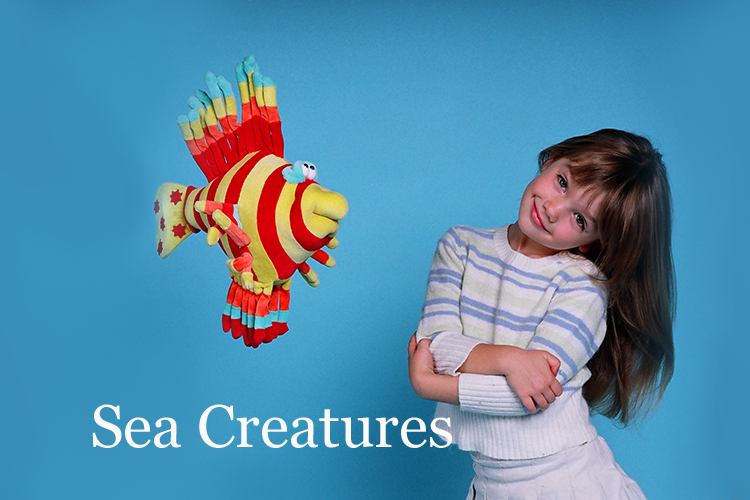Sea Creatures Collection by Funny Friends