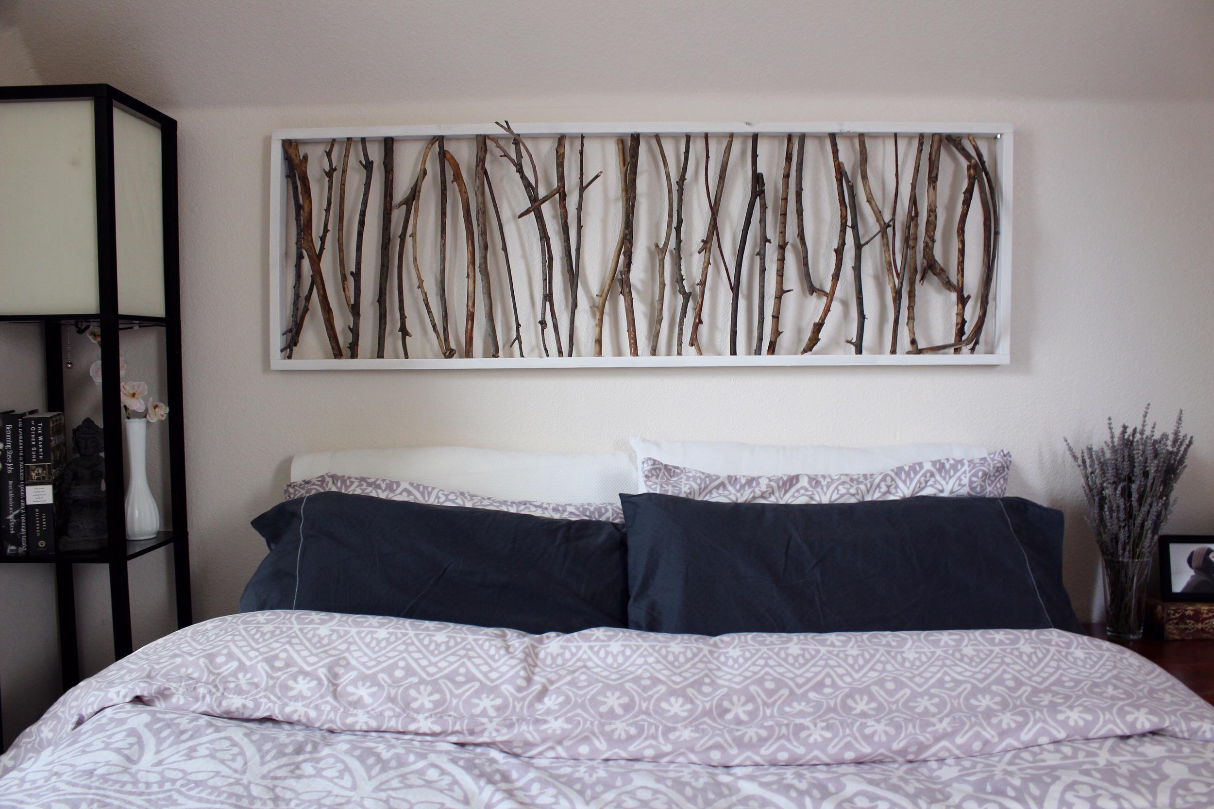 branch art headboard
