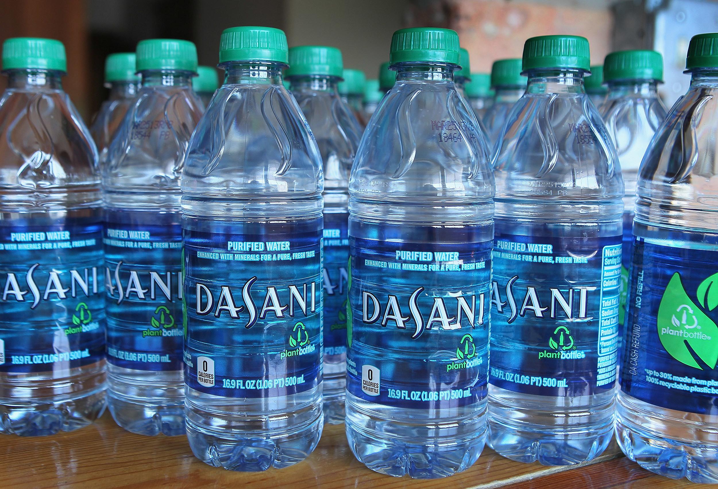 Dasani Water Bottles