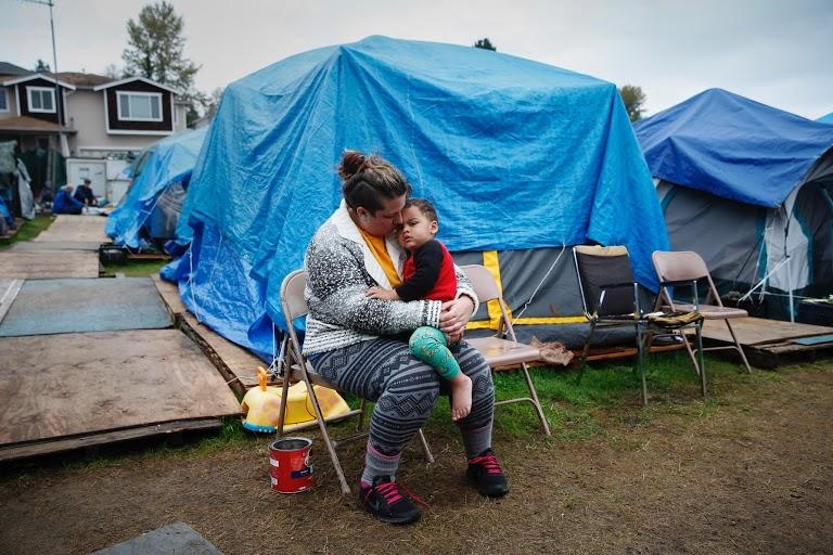 Tent City Photo