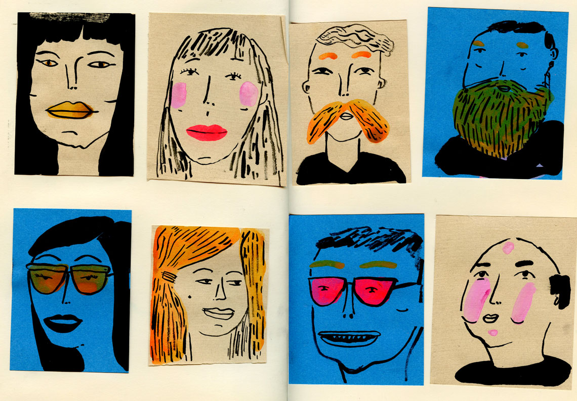 sketchbook faces2