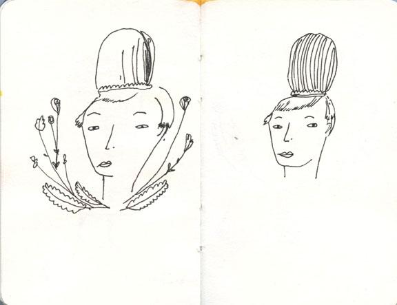 November sketchbook drawing