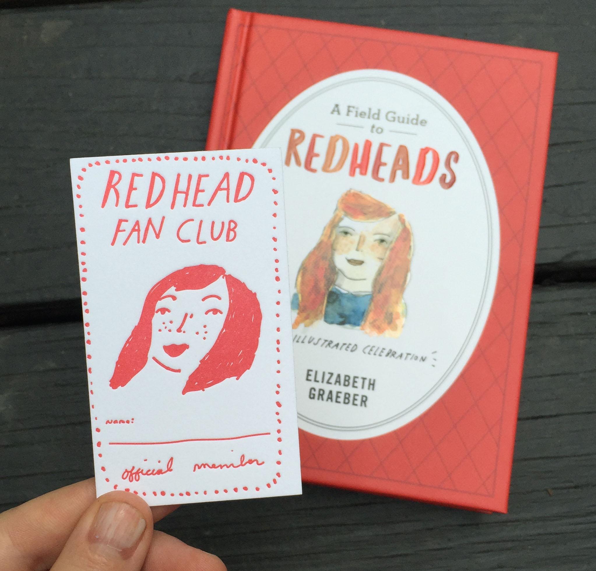 redhead fan club membership card