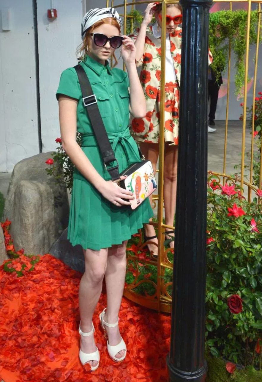 Alice and Olivia- photo from WWD