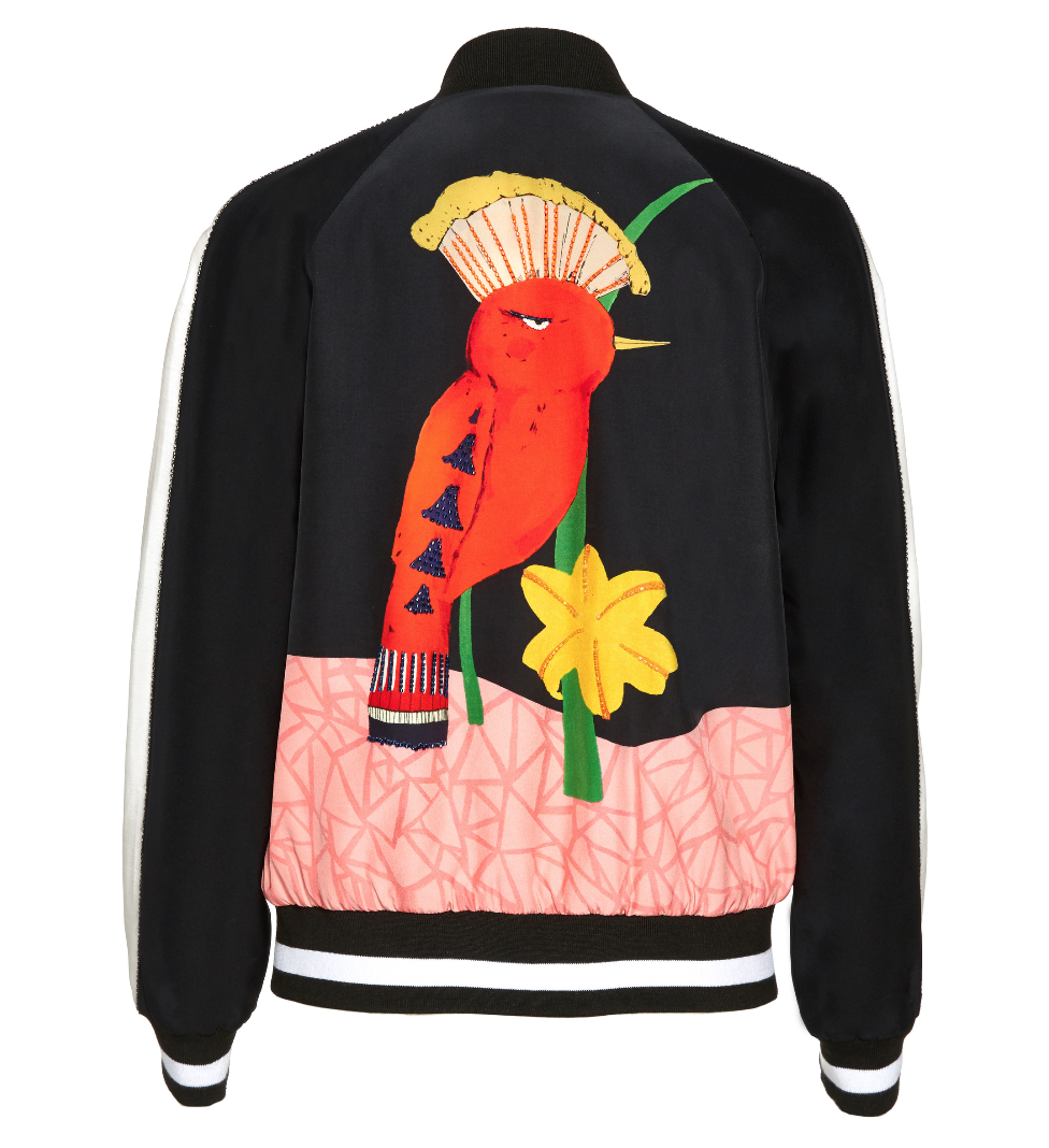 Alice and Olivia Bird jacket