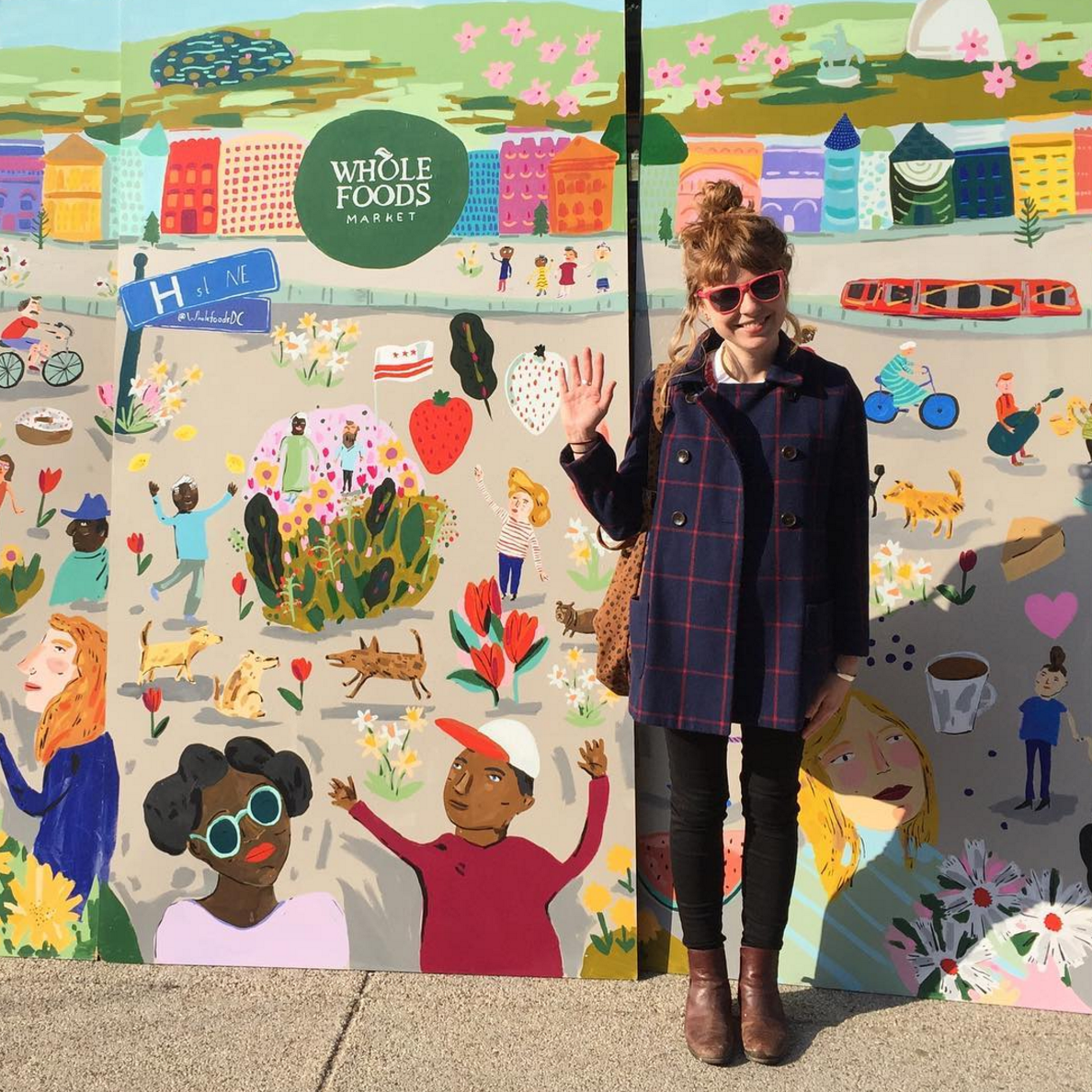 Whole Foods DC mural