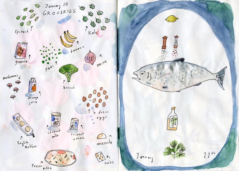 sketchbook illustration