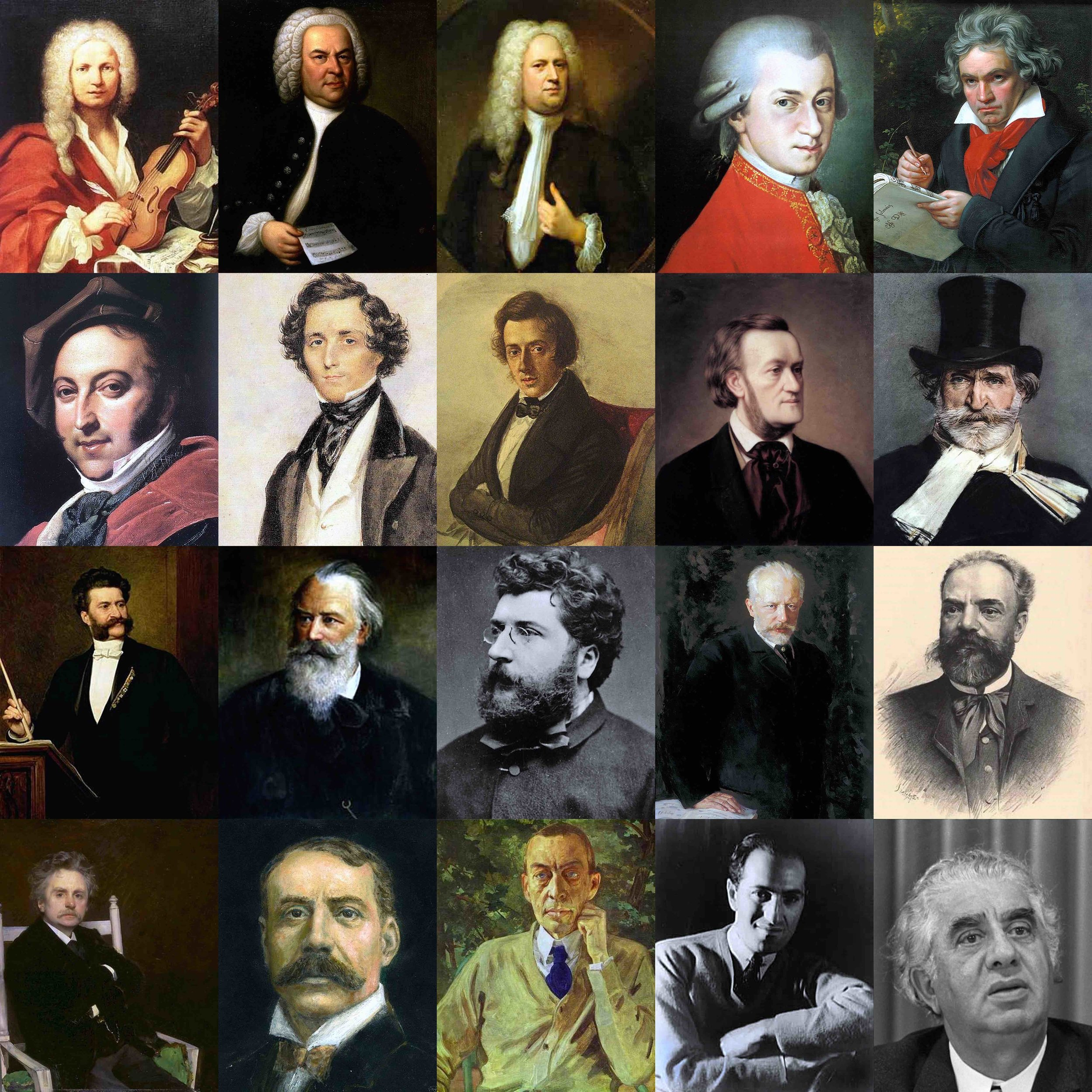 Famous Music Composers