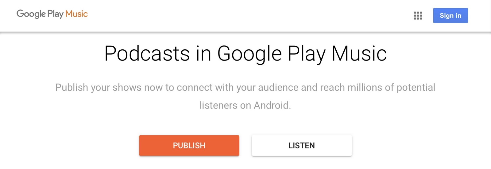 How to submit your podcast to Google Play