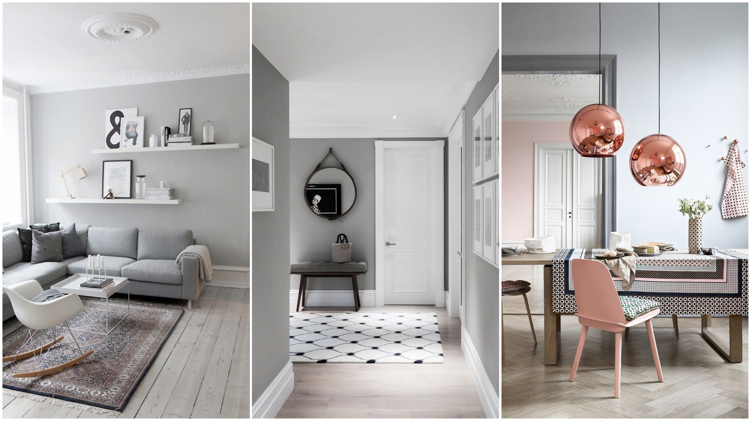Grey Wall Paint Colour - Pearson and Projects