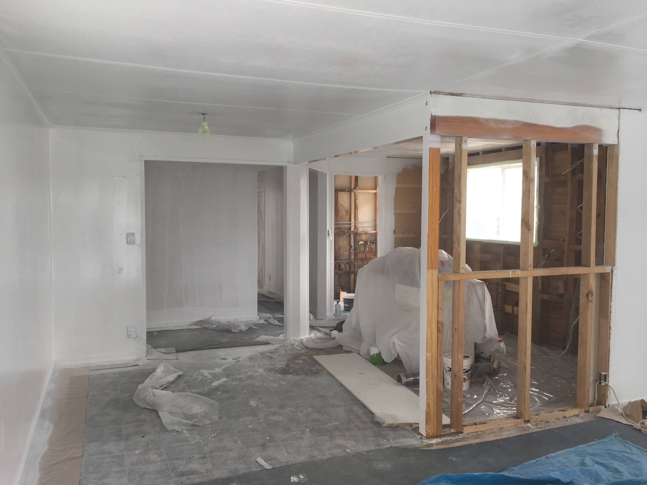 Pearson and Projects - Renovation Progress